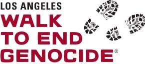LA walk to end genocide