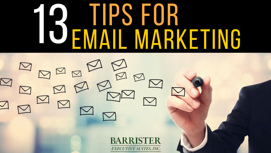 Barr Email Marketing Tips – Barrister Suites