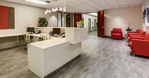 entrance to Barrister Executive Suites Burbank office