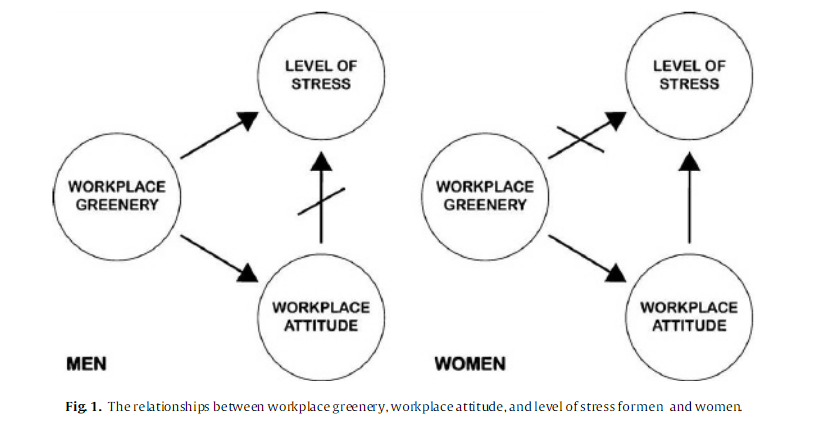 Workplace greenery and perceived level of stress: Benefits of access to a green outdoor environment at the workplace by Lene Lottrup, Patrik Grahn, Ulrika K. Stigsdotter