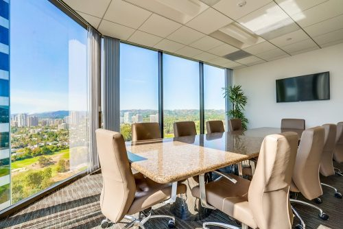 beautiful office space at Barrister Executive Suites with a lot of natural light
