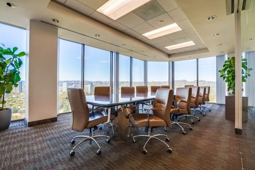 barrister executive suites century city conference room
